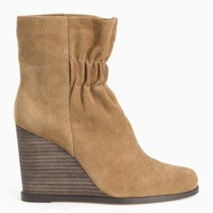 Splendid Shoes - NIB SPLENDID Suede Wedge Cinched Front Boot